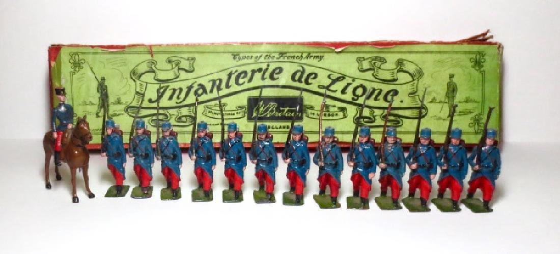 Britains Infantanerie de Ligne Set #141 with Box