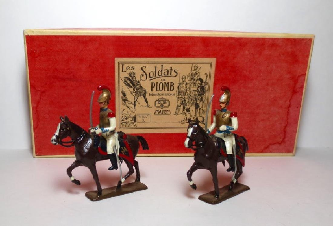 C.B.G Mignot Mounted Cavaliers Boxed Set
