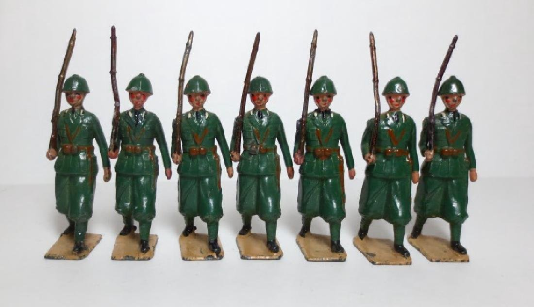 Britains Italian Infantry from Set #1475