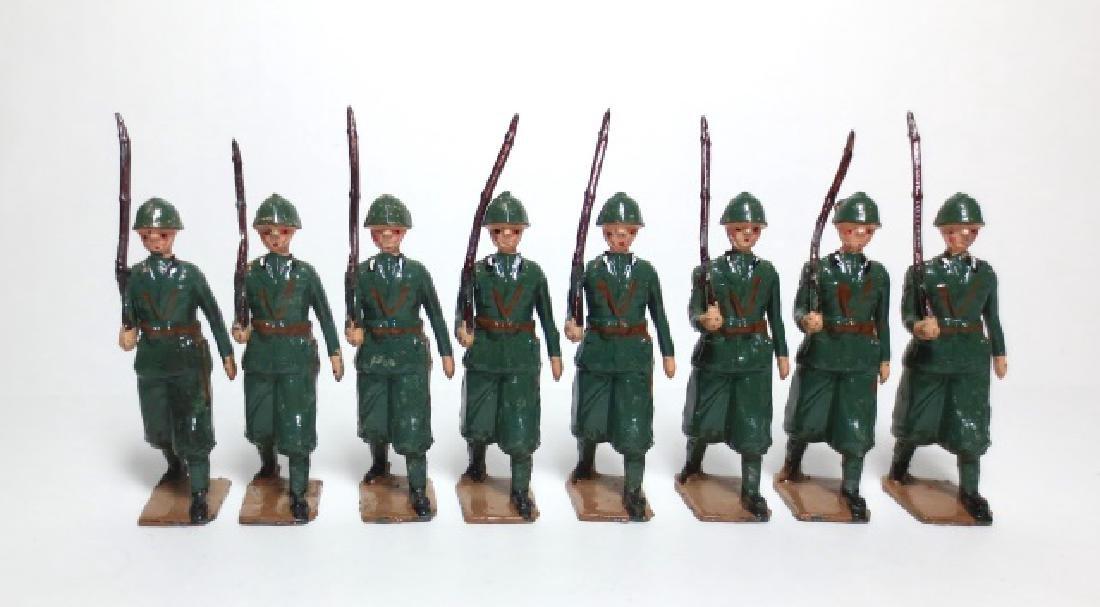 Britains Italian Infantry Set #1435