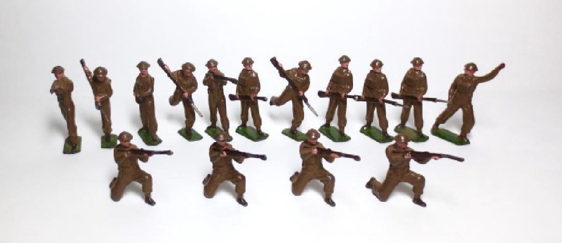 Britains British Infantry from Set #1898