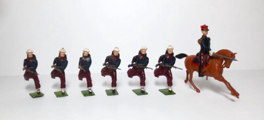 Britains Zouaves with Officer Set #142