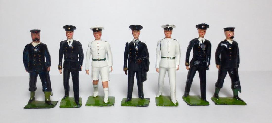 Britains Types of the Royal Navy Set #1911