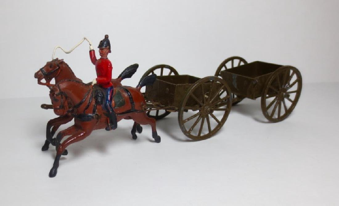 Britains Royal Engineers Service Wagon Set #1330