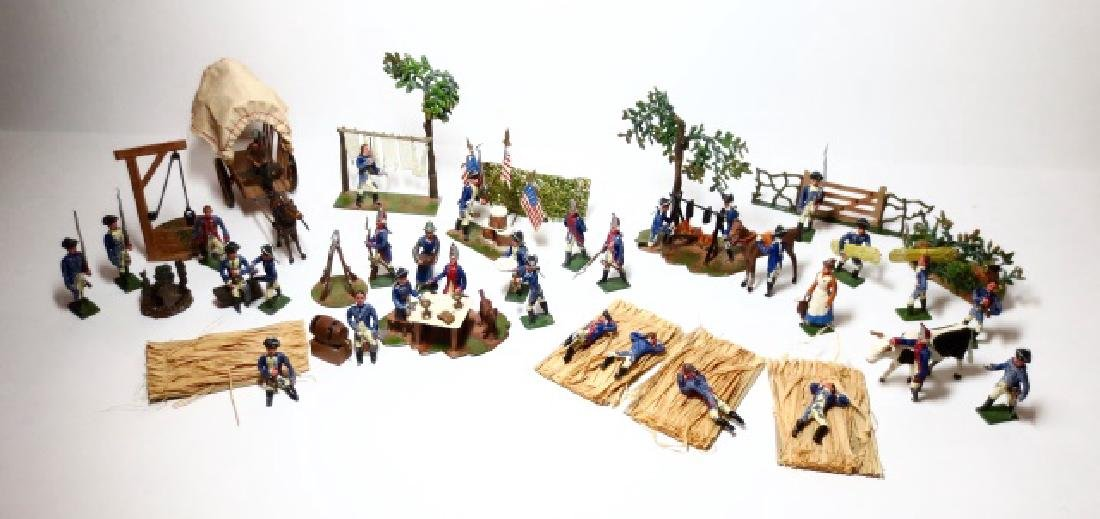 Heyde Rare George Washington Camp Scene