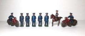 Japan Rare New York Dimestore Police Set
