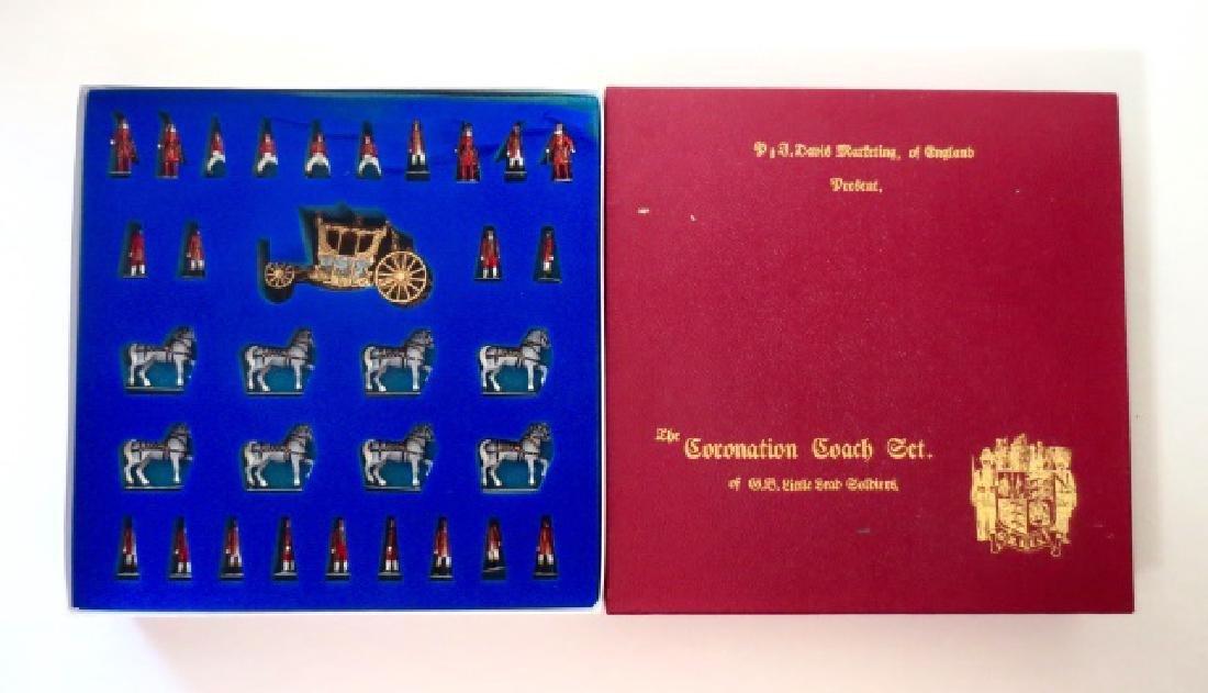 G.B. Little Lead Soldiers Coronation Coach Set