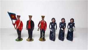 Britains Rare Salvation Army Figures
