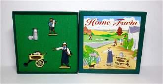 Britains Home Farm Milk Cart Set 8709