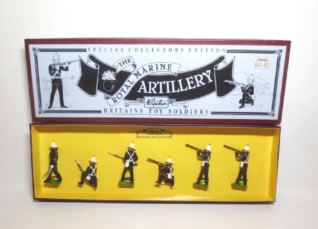 Britains The Royal Marine Artillery Set #8826