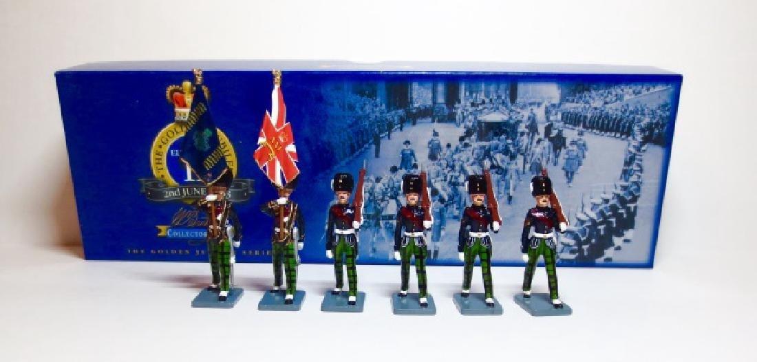 Britains The Royal Scots Fusiliers Colour Party