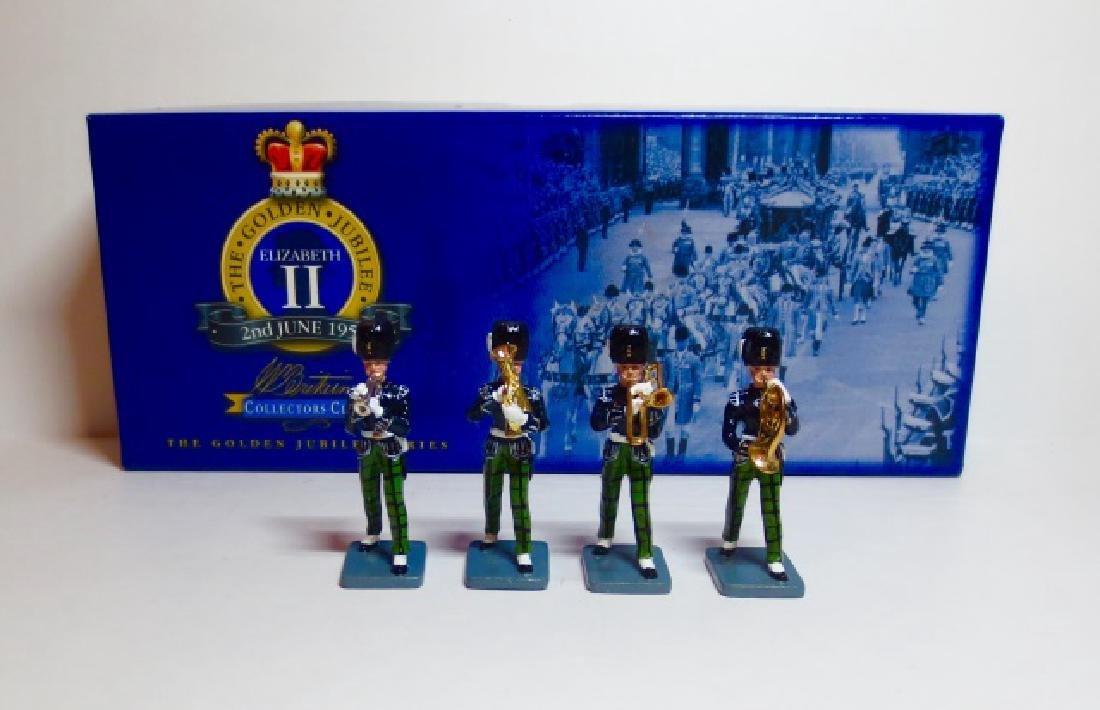 Britains Royal Scots Fusiliers Band Set #40326