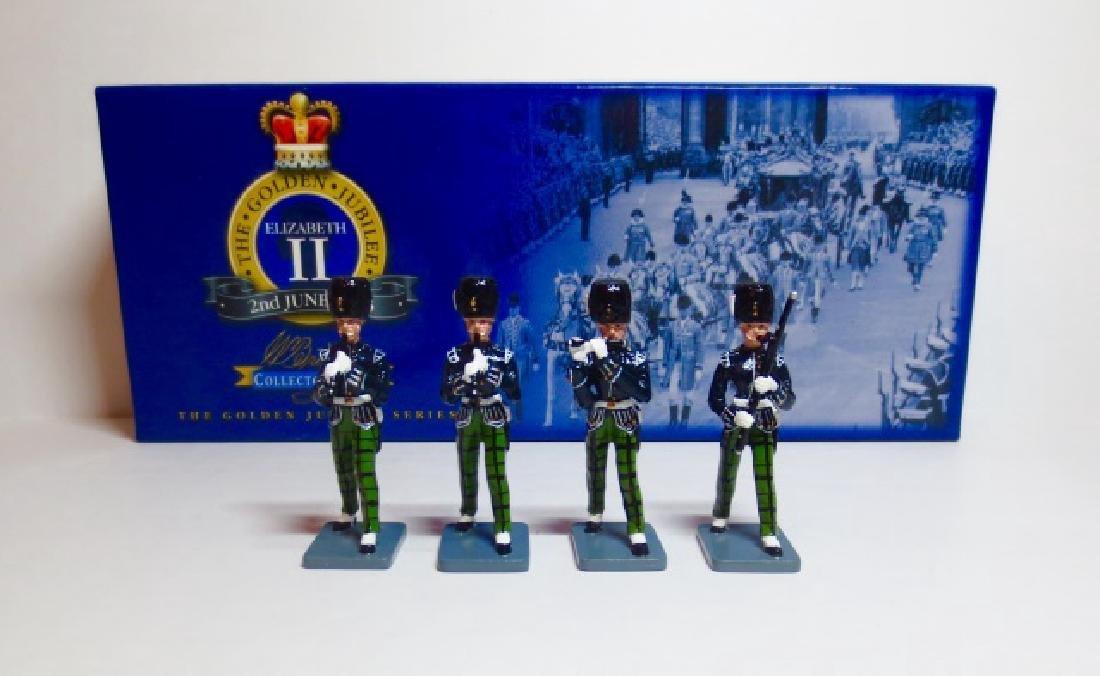 Britains Royal Scots Fusiliers Band Set #40327