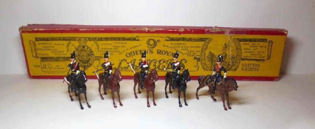 Britains 9th Queens Royal Lancers Set #24