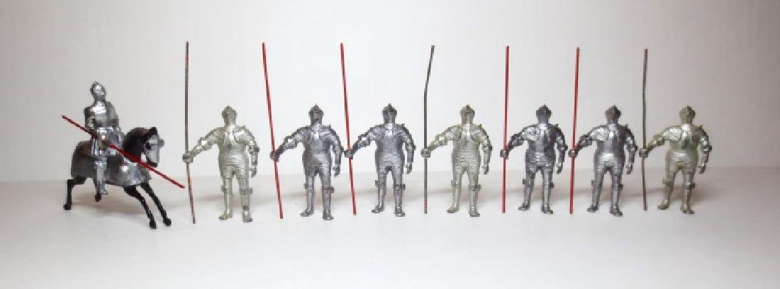 Britains Knights Mounted and on Foot
