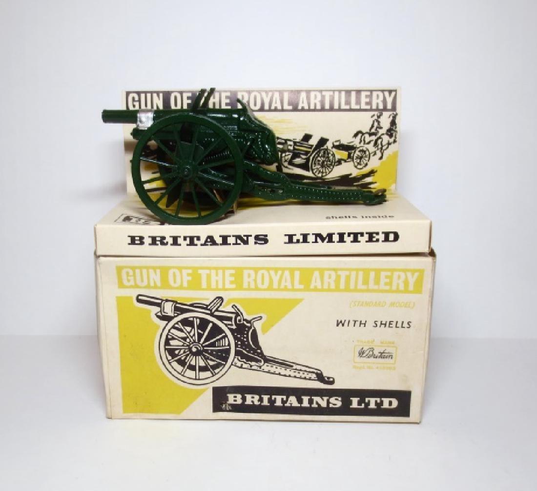 Britains The Gun of The Royal Artillery #9715