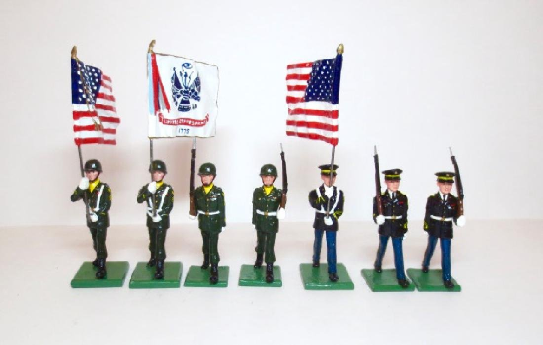 Wall Miniatures U.S. Army Color Guard