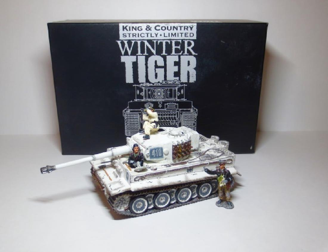King & Country Winter Tiger
