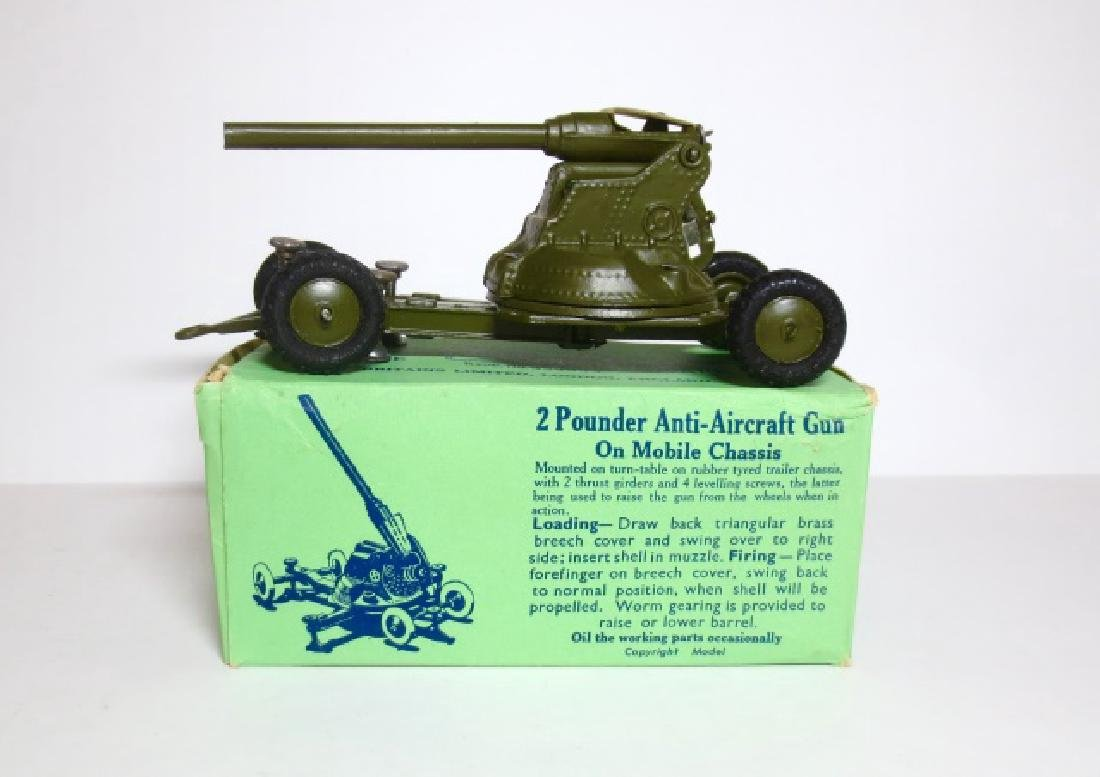 Britains 2 Pounder A.A. Gun on Mobile Chassis