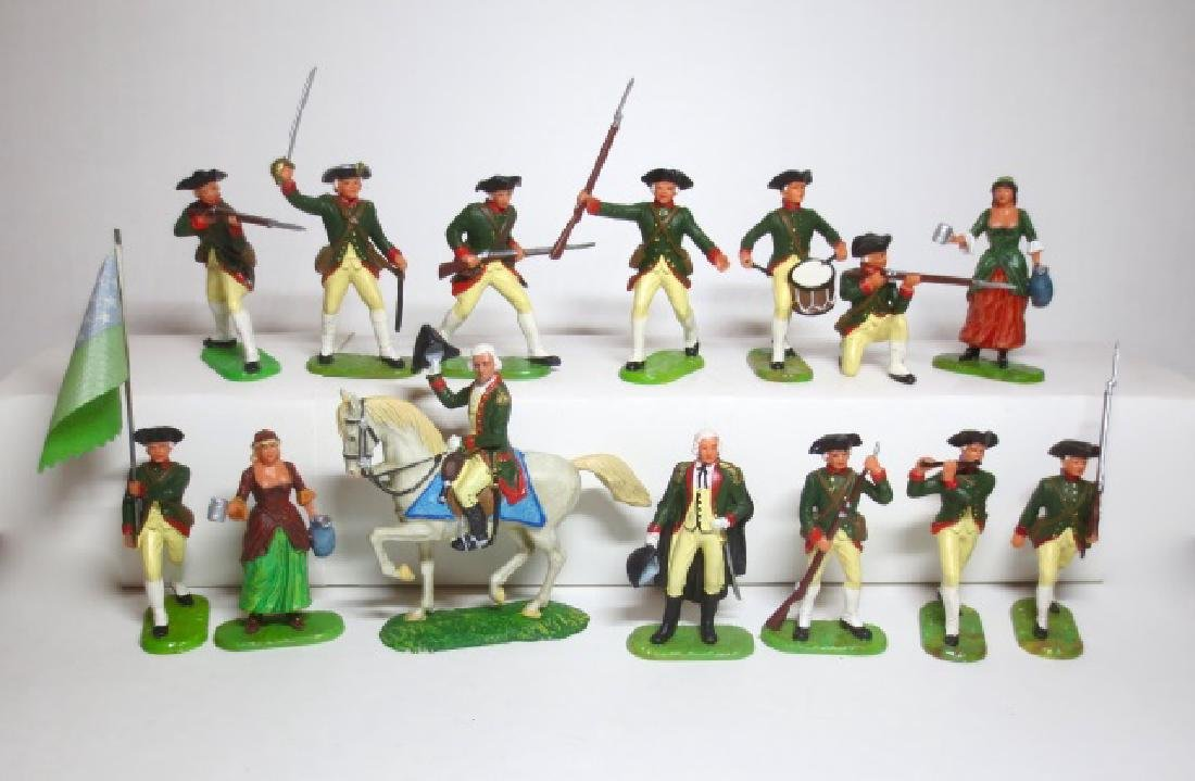 Elastolin American Revolutionary War Assortment