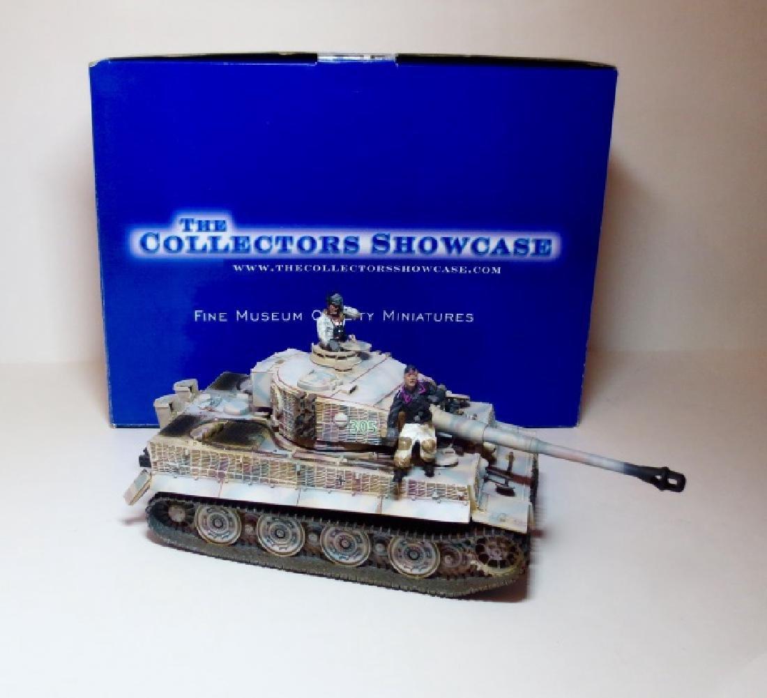 Collectors Showcase Tiger Tank #CS00287