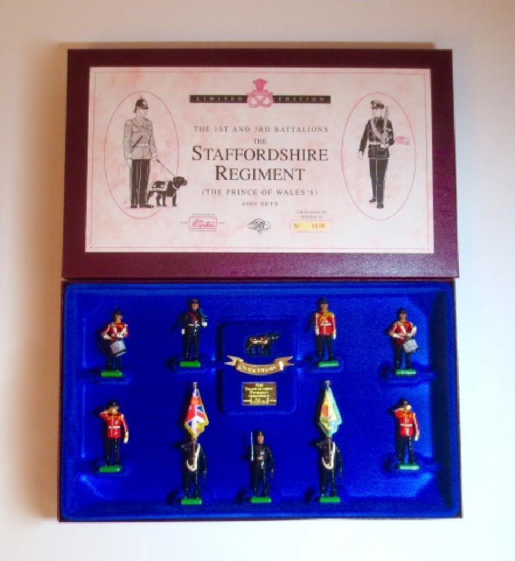 Britains The Staffordshire Regiment Set #5194