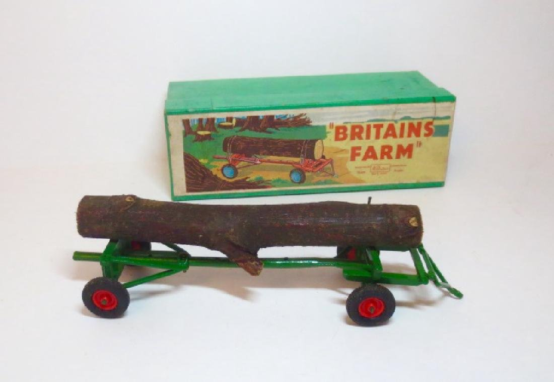 Britains Farm Timber Trailer Set #9560