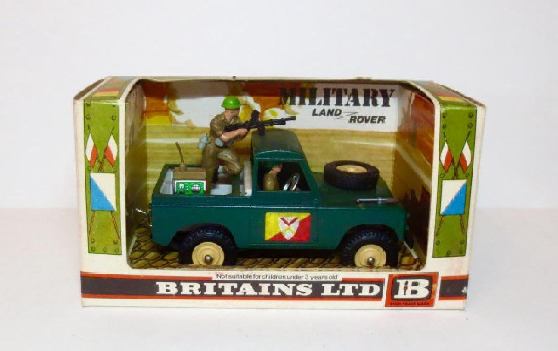 Britains Military Land Rover #9782
