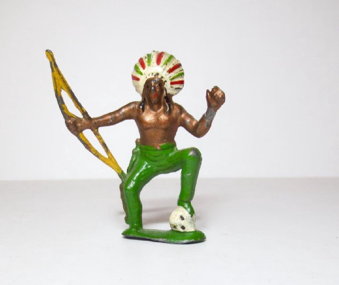 Charbens Rare Indian Chief with Foot on Skull