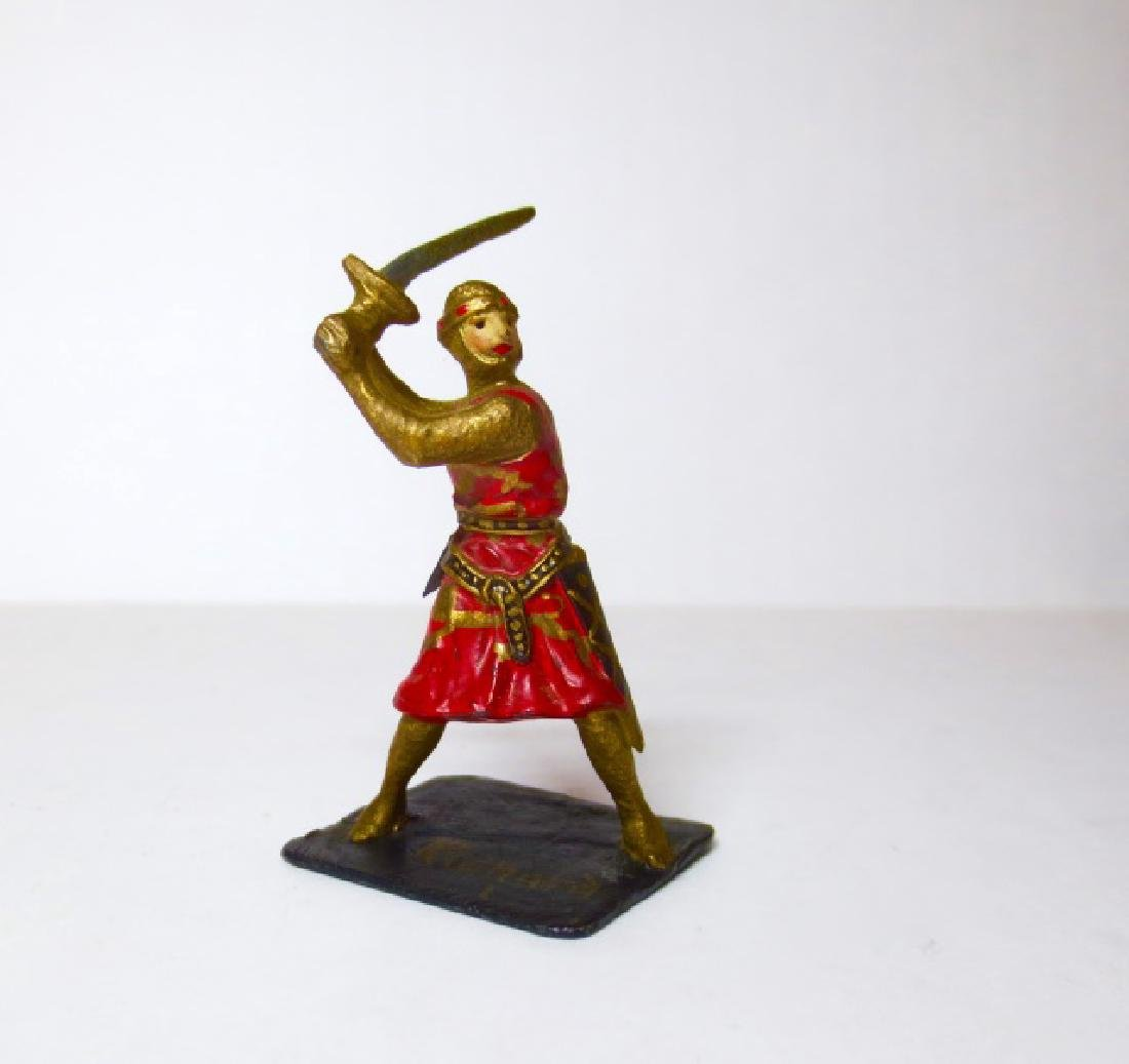 Courtenay Richard I in Battle