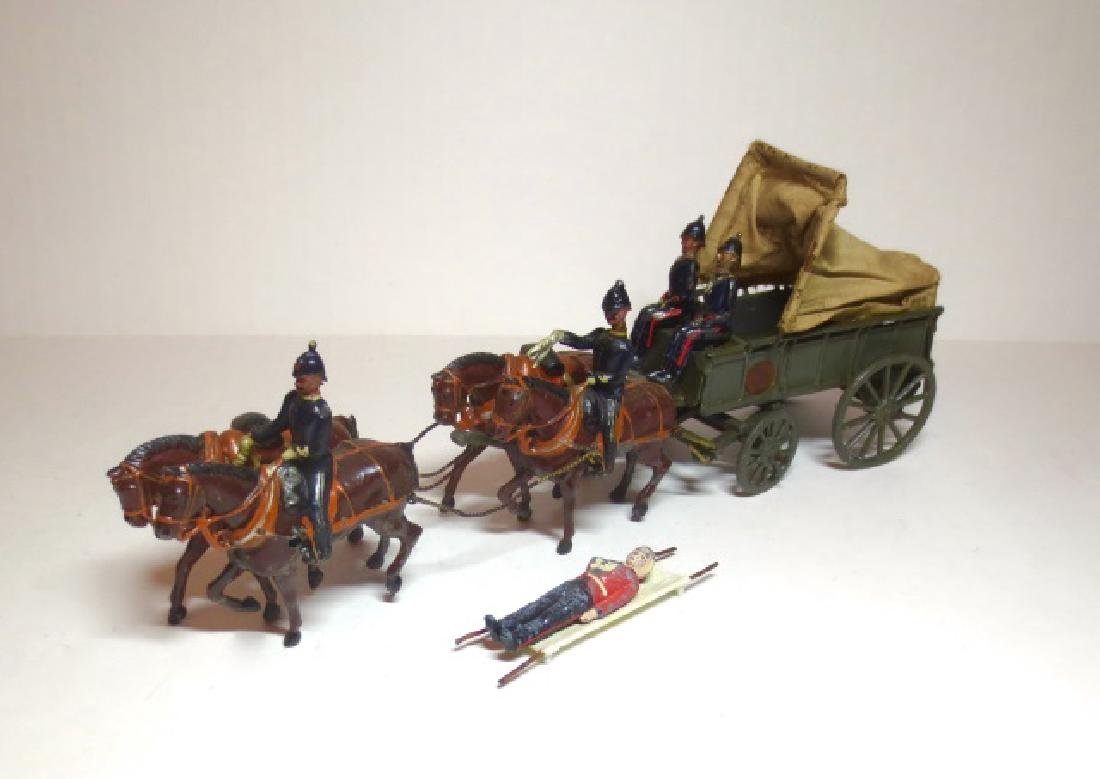 Britains RAMC Wagon with Wounded