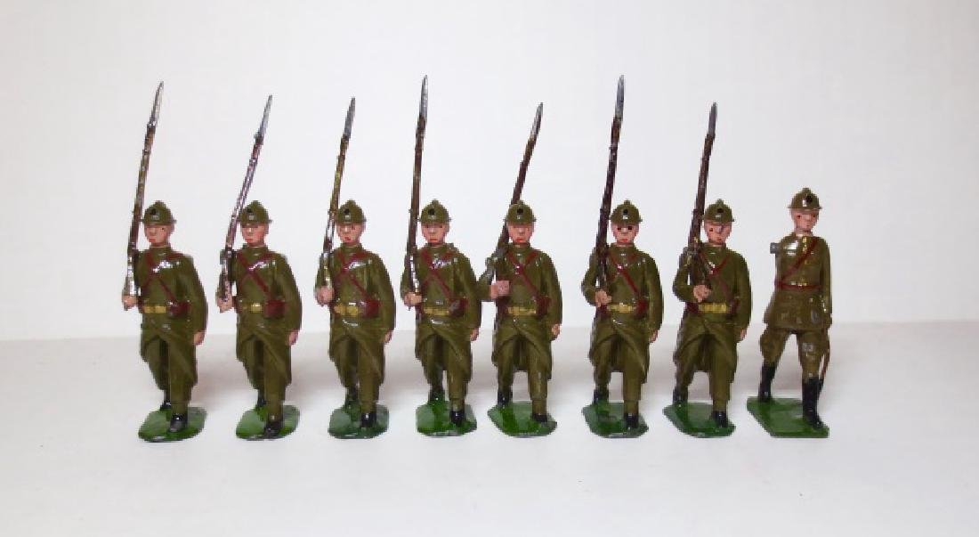 Britains Belgian Infantry Set #1389