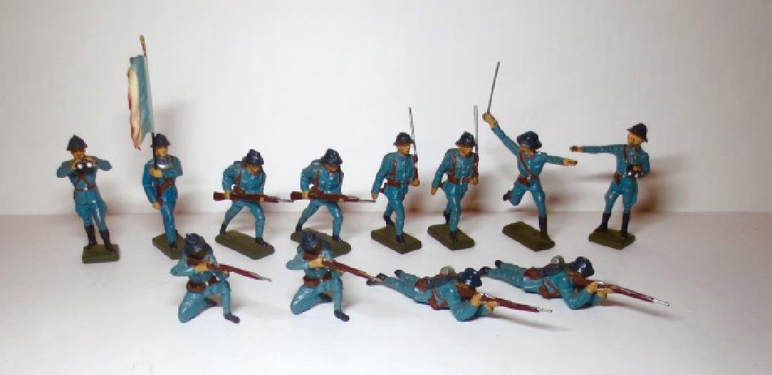 Lineol Composition WW2 French Infantry