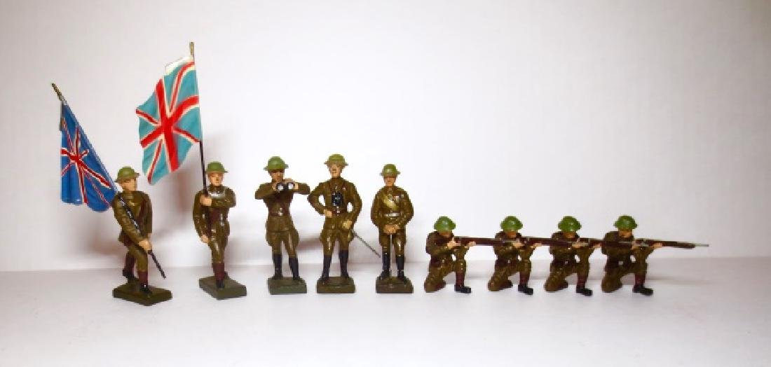 Lineol Composition WW2 British Infantry