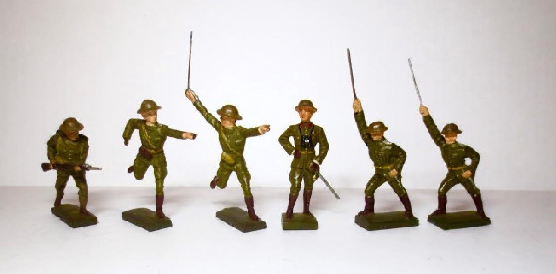Lineol Composition WW2 Infantry