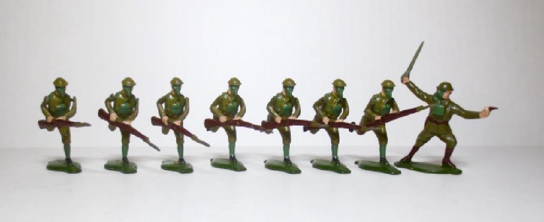 Comet British Infantry in Gas Masks Set