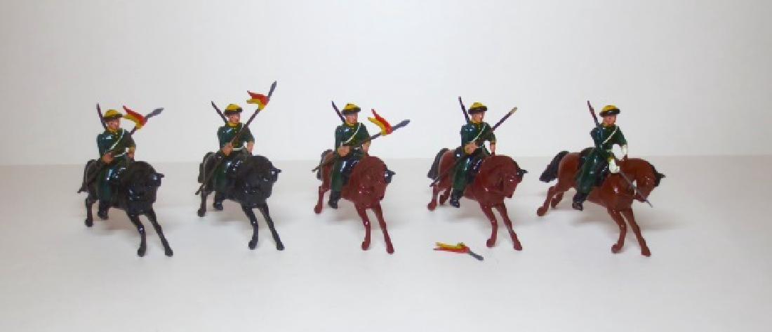 Britains Russian Cossacks Cavalry Set #136