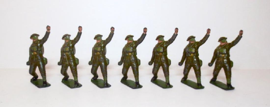 Britains Infantry with Gas Masks from Set #1612