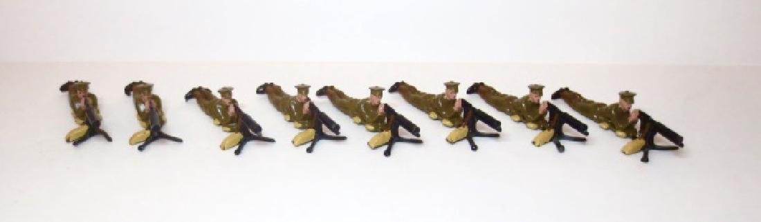 Britains Machine Gun Section from Set #194