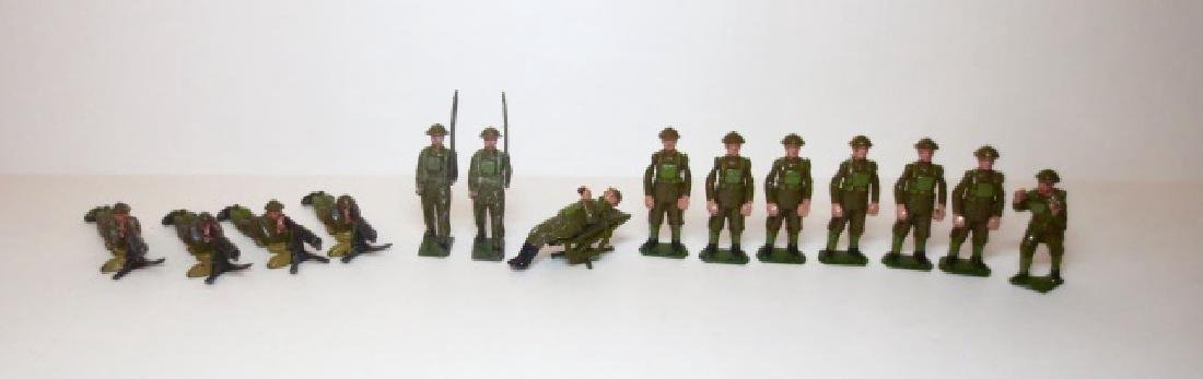 Britains Khaki Infantry Assortment