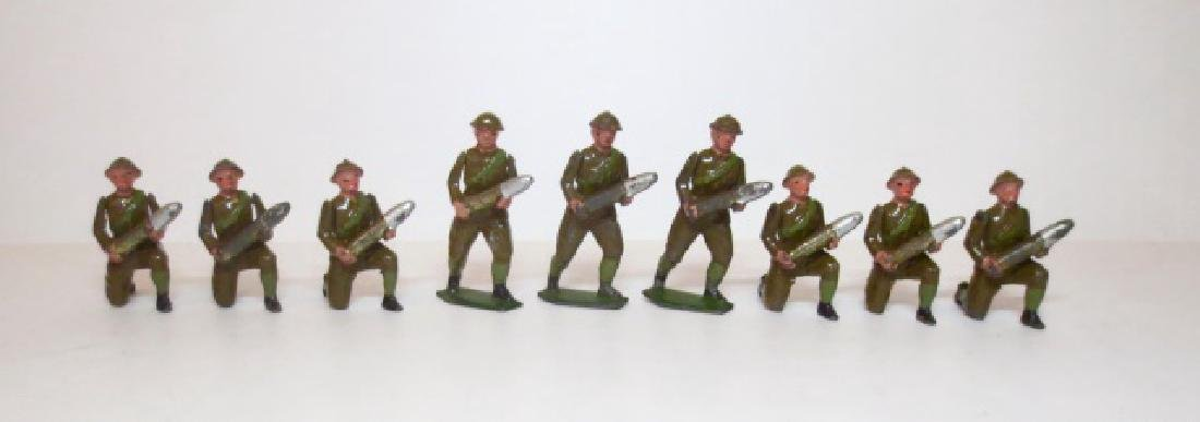 Britains Gunners carrying Shells from Set #1730