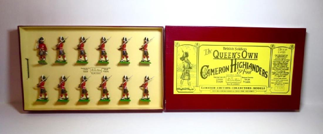 Britains The Queen's Own Cameron Highlanders