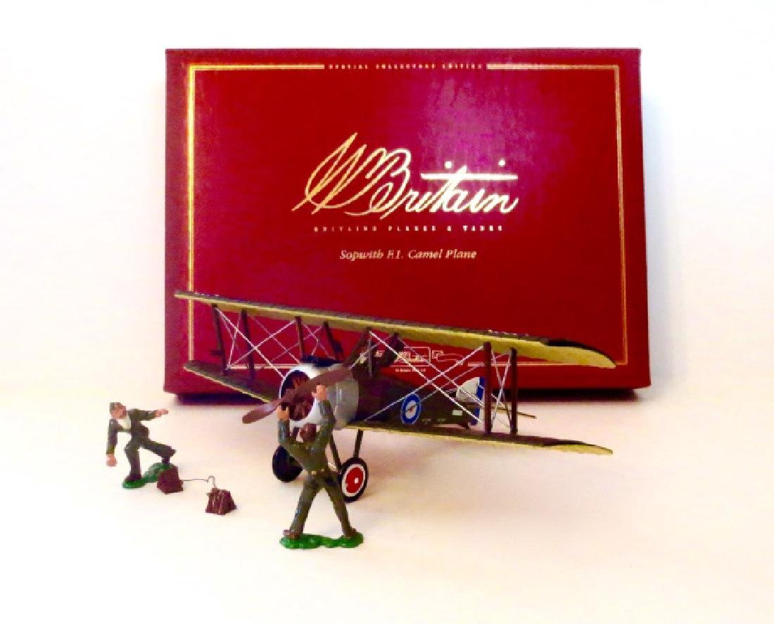 Britains Sopwith F.1. Camel Plane Set #08941