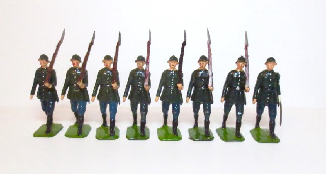Britains WW2 German Infantry Mismatched Set
