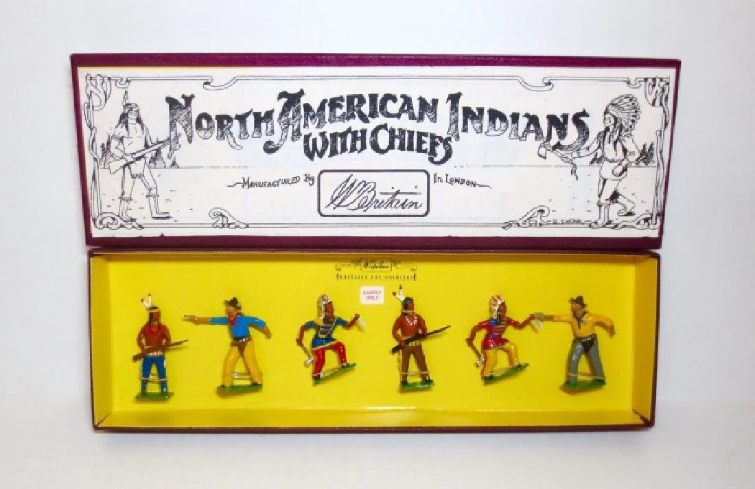 Britains North American Indians with Chiefs Rare