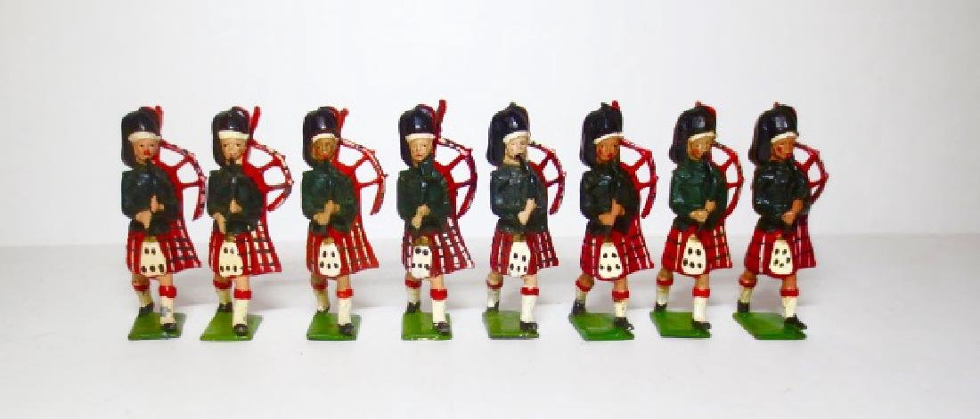 Britains Black Watch Highlanders Pipers
