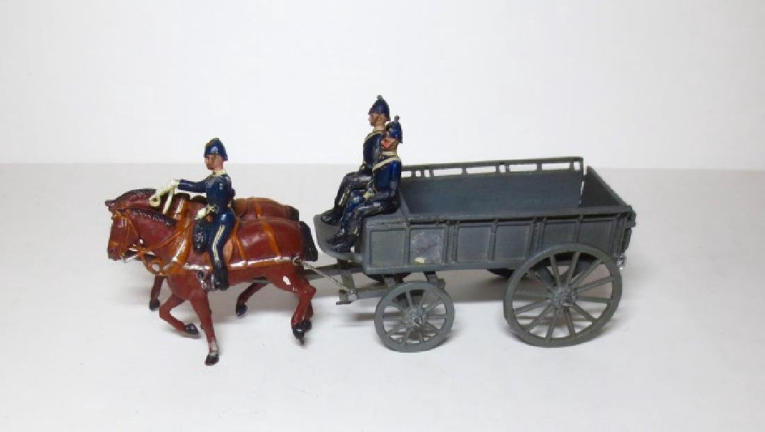 Britains Army Service Wagon Set #146