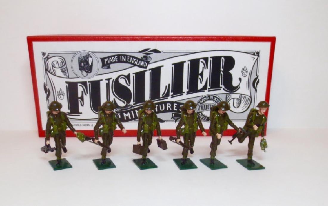 Fusilier WW2 British Machine Gun Team Set