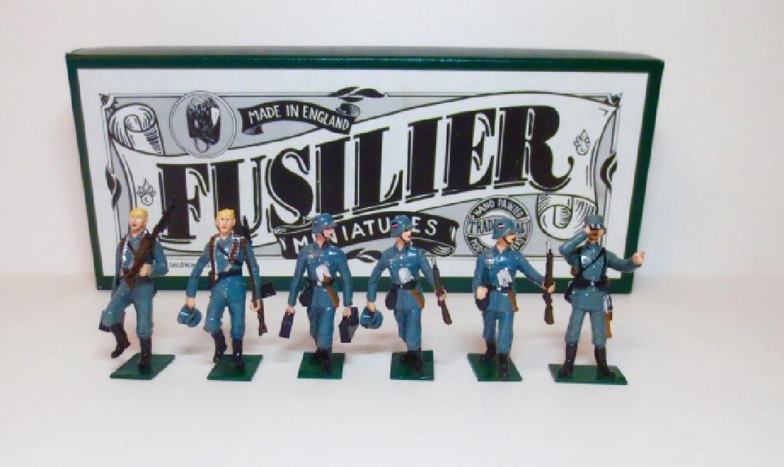 Fusilier WW2 Machine Gun Section Set #19A