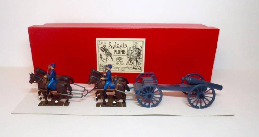 C.B.G Mignot US Armee 1863 Canon Set